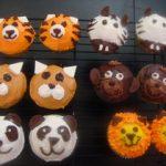カップケーキ動物デコ3 ライオン