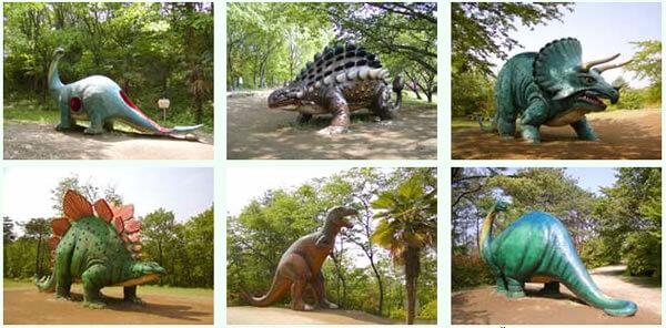 恐竜の森(水戸市森林公園)