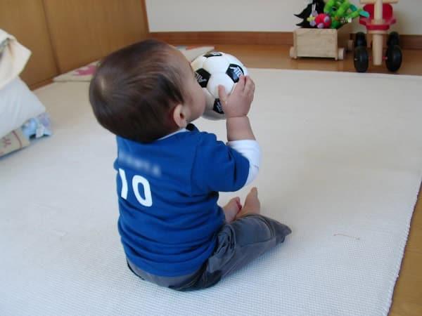 サッカーのユニフォーム(手作り)