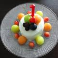 一歳の誕生日ケーキ(イチゴがなくても笶、)