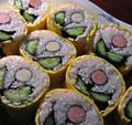 チューリップの巻寿司