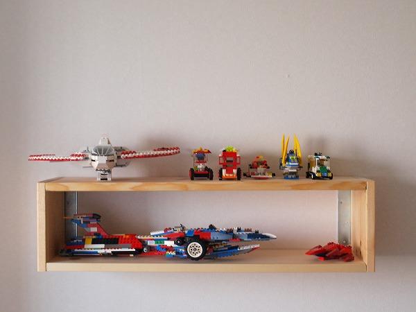 母親のプレゼント(レゴ棚)