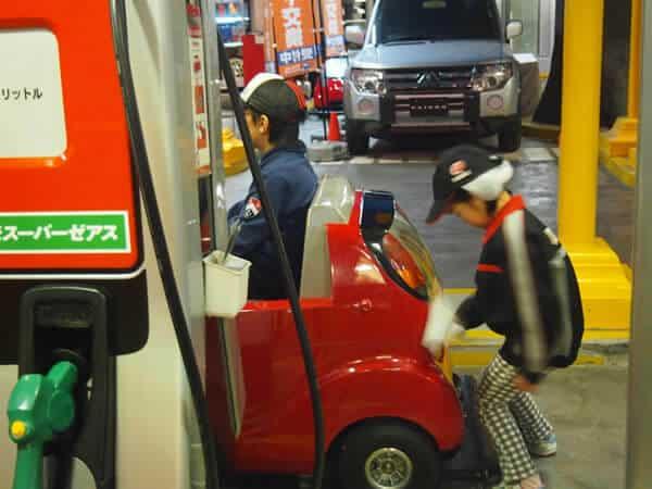 キッザニア東京 ガソリンスタンド