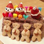 8才女の子のバースデーケーキ