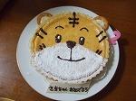 お誕生日に☆簡単しまじろうのチーズケーキ