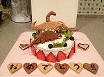 誕生日スペシャル恐竜ケーキ
