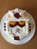 ガンダムケーキ