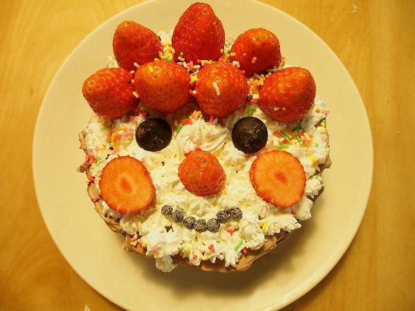 パパへの誕生日ケーキ