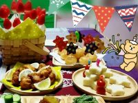 1歳の誕生日をお祝いする料理!かわいいメニューをピックアップ