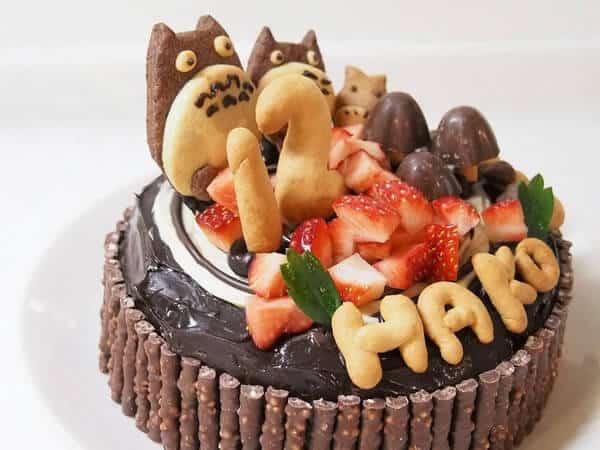 女の子12歳 バースデーケーキ