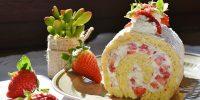 子どもの誕生日を祝う料理とバースデーケーキ