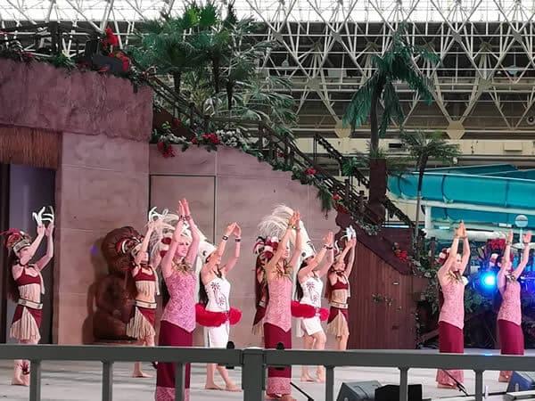 ハワイアンズのフラダンス