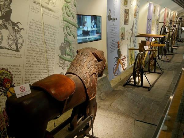科学技術館 自転車の歴史