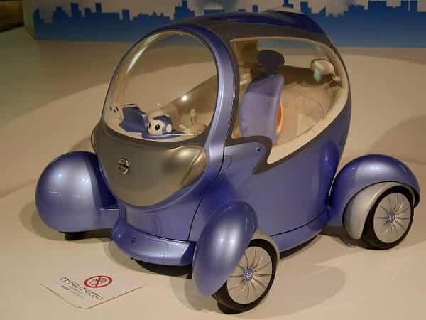 科学技術館 未来の車