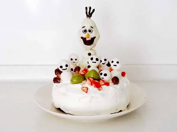 13歳のバースデーケーキ
